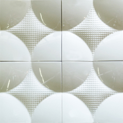 Round square model C plus | Ceramic tiles | Kenzan