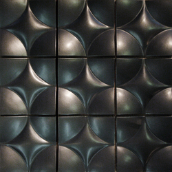 Round square model C | Wall tiles | Kenzan