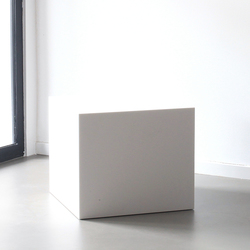 Shape stool | Badhocker / Badbänke | Not Only White B.V.