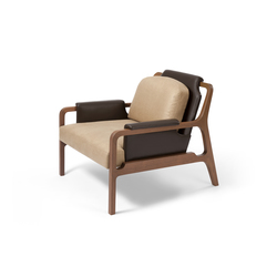 Fergus Lounge Chair | Poltrone lounge | CASTE