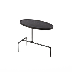 Bridger Oval Side Table - Wood | Tables d'appoint | CASTE