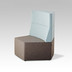 Manhattan | Modular seating elements | HOWE
