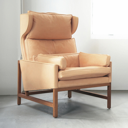 Wing Back Lounge Chair | Armchairs | BassamFellows