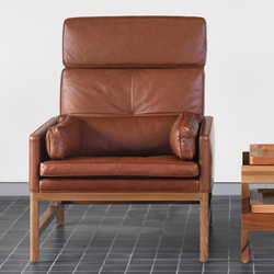 High Back Lounge Chair | Sessel | BassamFellows