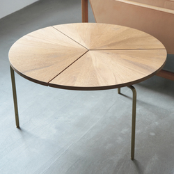 Circular Coffee Table | Tables à manger de jardin | BassamFellows