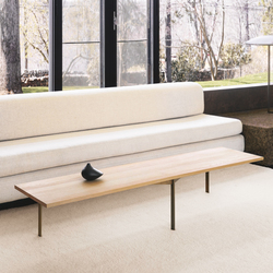 Plank Coffee Table | Mesas de centro | BassamFellows