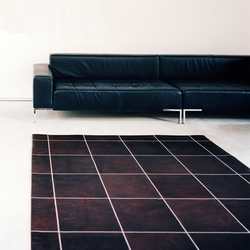 Leather Carpet | Tapis / Tapis design | KURTH Manufaktur