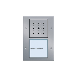 Door station 1-gang | Timbres / Placas timbres | Gira