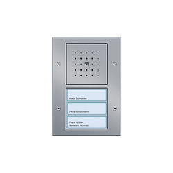 Door station 3-gang | Intercoms (exterior) | Gira