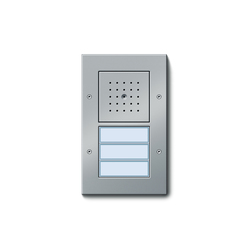 Door station AP 3-gang | Stations de porte | Gira