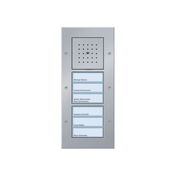 Door station AP 6-gang | Intercomunicación exterior | Gira
