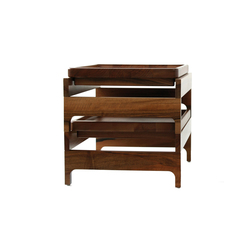 Tray Rack Side Table | Bandejas | BassamFellows