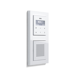 RDS flush-mounted radio | E2 | Radio systems | Gira