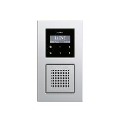 gira/e22-unterputz-radio-2-sq.jpg | E22 | Sistemi radio | Gira