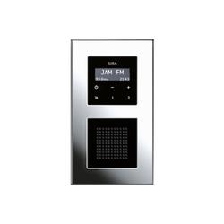 RDS flush-mounted radio | Esprit | Sistemi radio | Gira