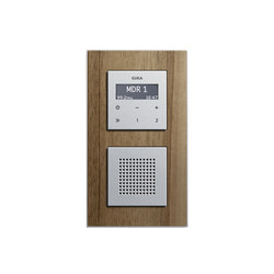 RDS flush-mounted radio | Esprit | Radio systems | Gira