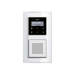 RDS flush-mounted radio | Event | Radio systems | Gira