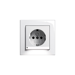 SCHUKO-socket outlet LED | E2 | Prese Schuko | Gira