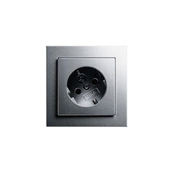 SCHUKO-socket outled twisted for 30 degrees | Schuko sockets | Gira