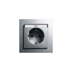 SCHUKO-socket outlet with control light | E2 | Prese Schuko | Gira