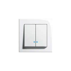 Series control switch with LED illumination element | E2 | Interrupteurs standard | Gira