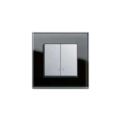 Series control switch with LED illumination element | E2 | interuttori a pulsante | Gira