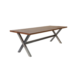 X Table | Mesas comedor | Made In Taunus