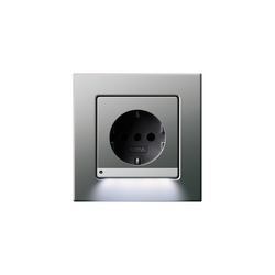 SCHUKO-socket outlet LED | E22 | Prese Schuko | Gira