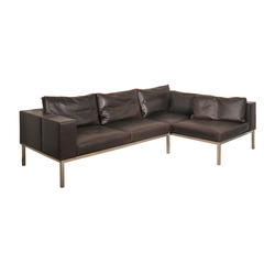 Leather couch | Canapés | KURTH Manufaktur