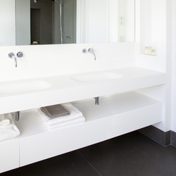 Blend double basin | Vanity units | Not Only White B.V.