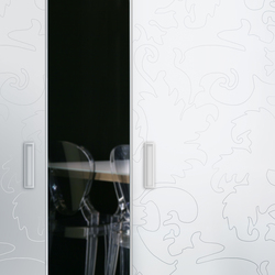 Madras® Barocco Maté Lac | Decorative glass | Vitrealspecchi