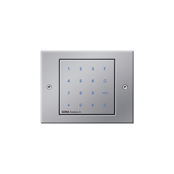 Keyless-In | Keypad | TX_44 | Code locks | Gira