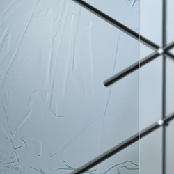 Madras® Silk Cristalli | Decorative glass | Vitrealspecchi