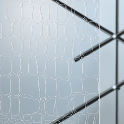 Madras® Cocco Cristalli | Decorative glass | Vitrealspecchi