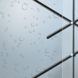 Madras® Gocce Cristalli | Decorative glass | Vitrealspecchi
