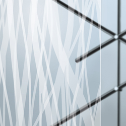 Madras® Fili Maté double face | Decorative glass | Vitrealspecchi