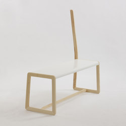 Private Space Bench | Clothes racks | ellenbergerdesign