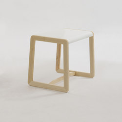 Private Space Stool | Shelves | ellenbergerdesign