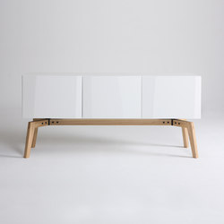 Private Space Credenza | Caissons | ellenbergerdesign