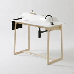 Private Space Washstand | Vanity units | ellenbergerdesign