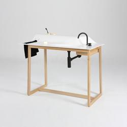 hochwertige waschtische waschtische aus holz auf architonic. Black Bedroom Furniture Sets. Home Design Ideas