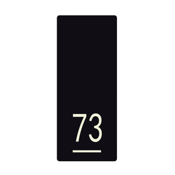 Lighthouse system signage 73 | Plaques de porte | AMOS DESIGN