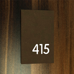 Lighthouse system signage 415 | Room signs | AMOS DESIGN