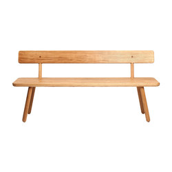 Bench Back - Oak/Natural | Panche | Another Country