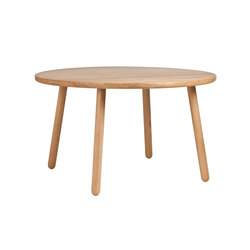 Dining Table Round - Oak/Natural | Restaurant tables | Another Country