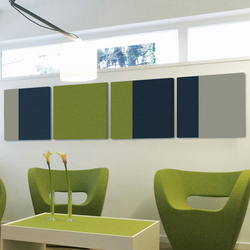 Colorful waiting combinations | Wall panels | acousticpearls