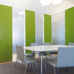 Pure meeting combinations | Sound absorbing wall systems | acousticpearls