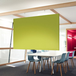 ARCHITECTS air | Sound absorbing suspended panels | acousticpearls