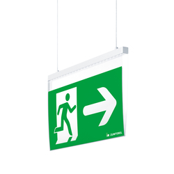 ONLITE CROSSIGN | Suspended emergency lights | Zumtobel Lighting