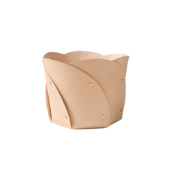 Poppy basket leather | Storage boxes | Klong